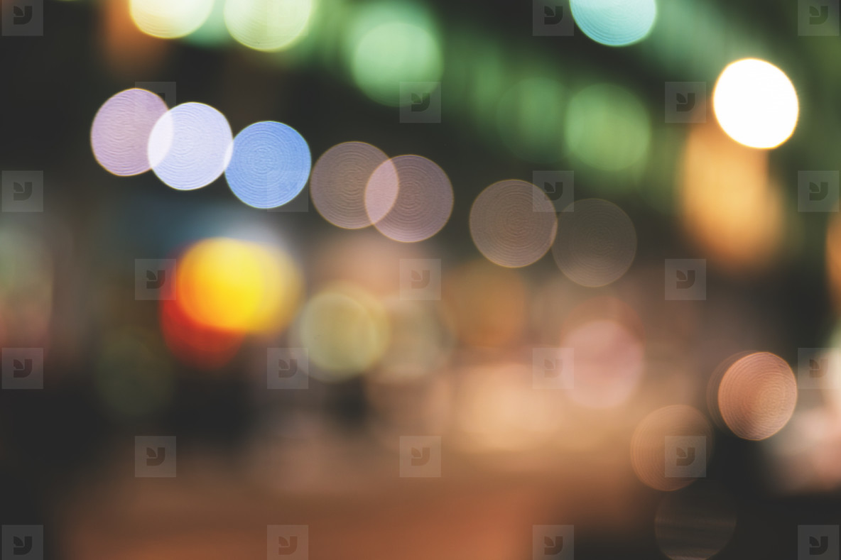 City Bokeh Lights