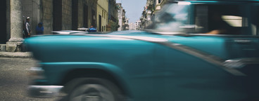 Retro Car in Cuba