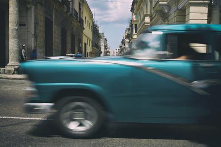 Retro Car in Cuba