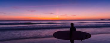 Surfer Sunset
