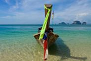 Thailand Boat in Ocean