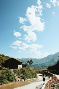Road of mountain Vietnam 02