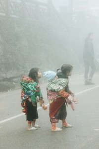 Hmong Children Vietnam