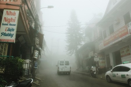 Misty in Sapa  Vietnam
