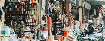 Market in Sapa  Vietnam