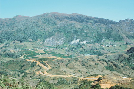 Mountain view  Vietnam 08