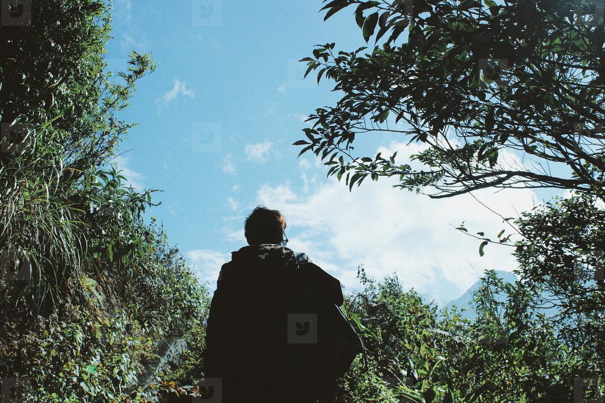 Man in Forest  Vietnam