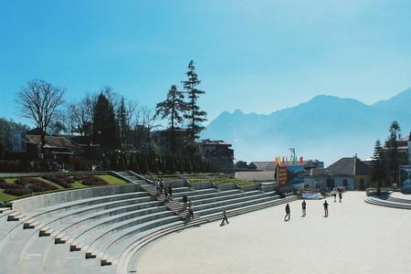 Public park  Vietnam