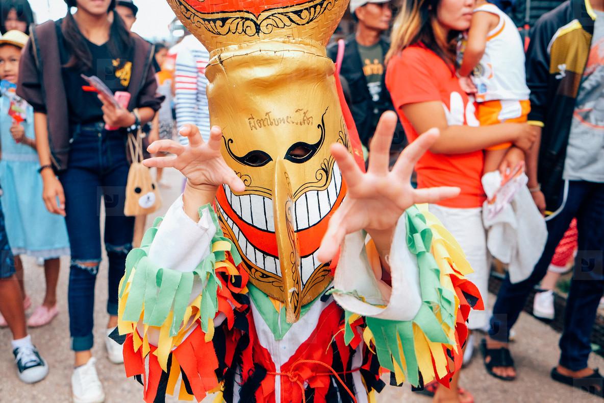 Phi Ta Khon Festival  01
