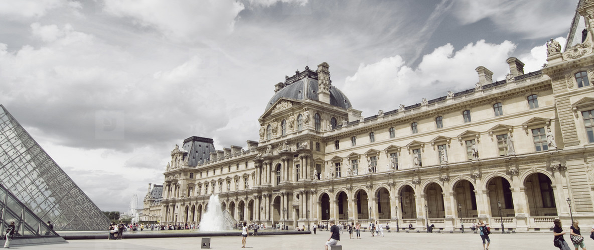 The Louvre in Summer