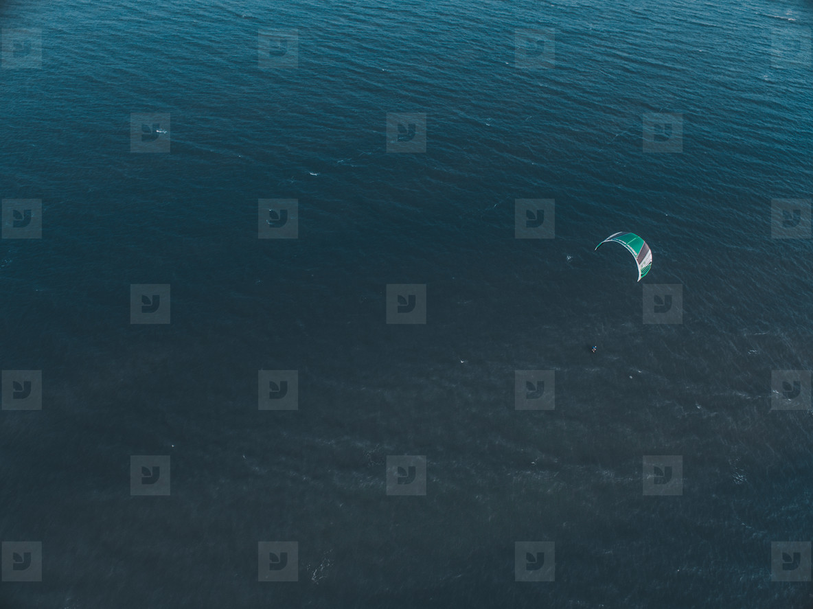 Kite Surfing Aerial Image 04