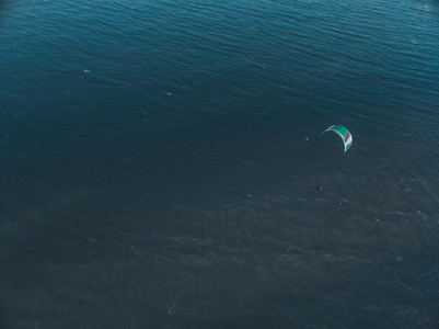 Kite Surfing Aerial Image 04