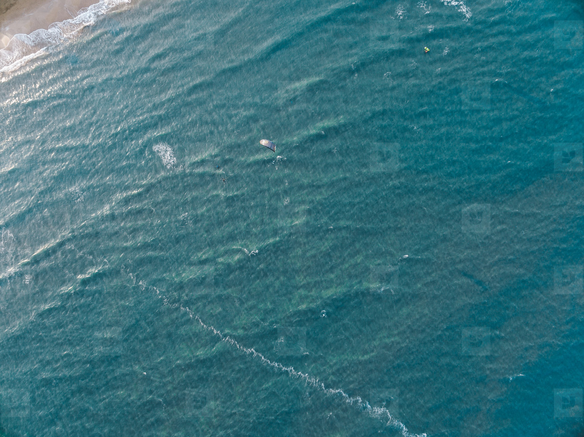 Kite Surfing Aerial Image 02