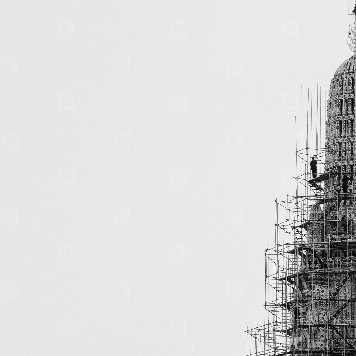 Repair the pagoda