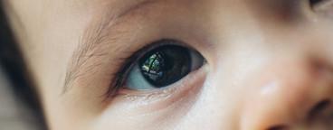 Baby Eye Closeup