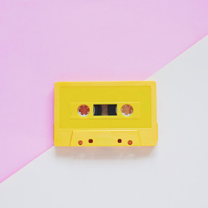 Yellow tape cassette