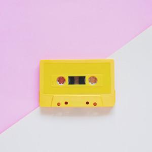 Yellow tape cassette