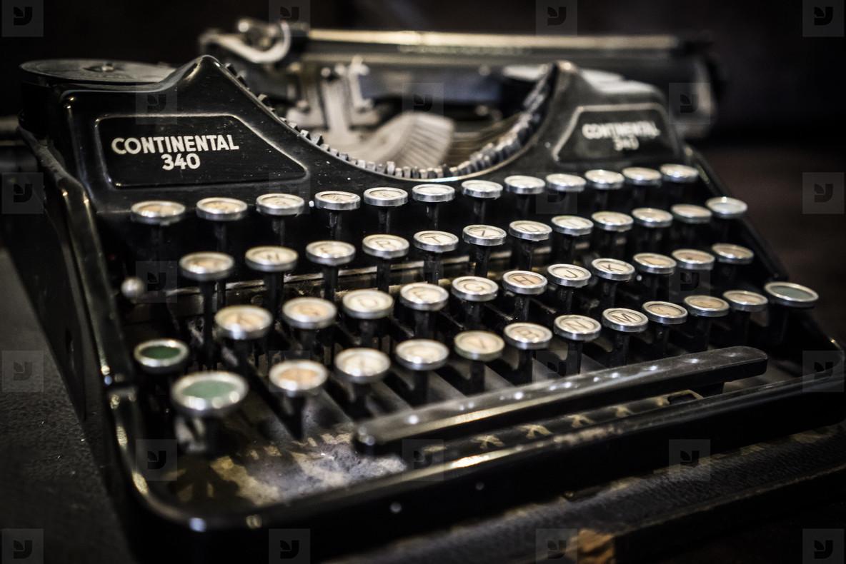 An Old Typewriter
