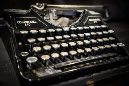 An Old Typewriter