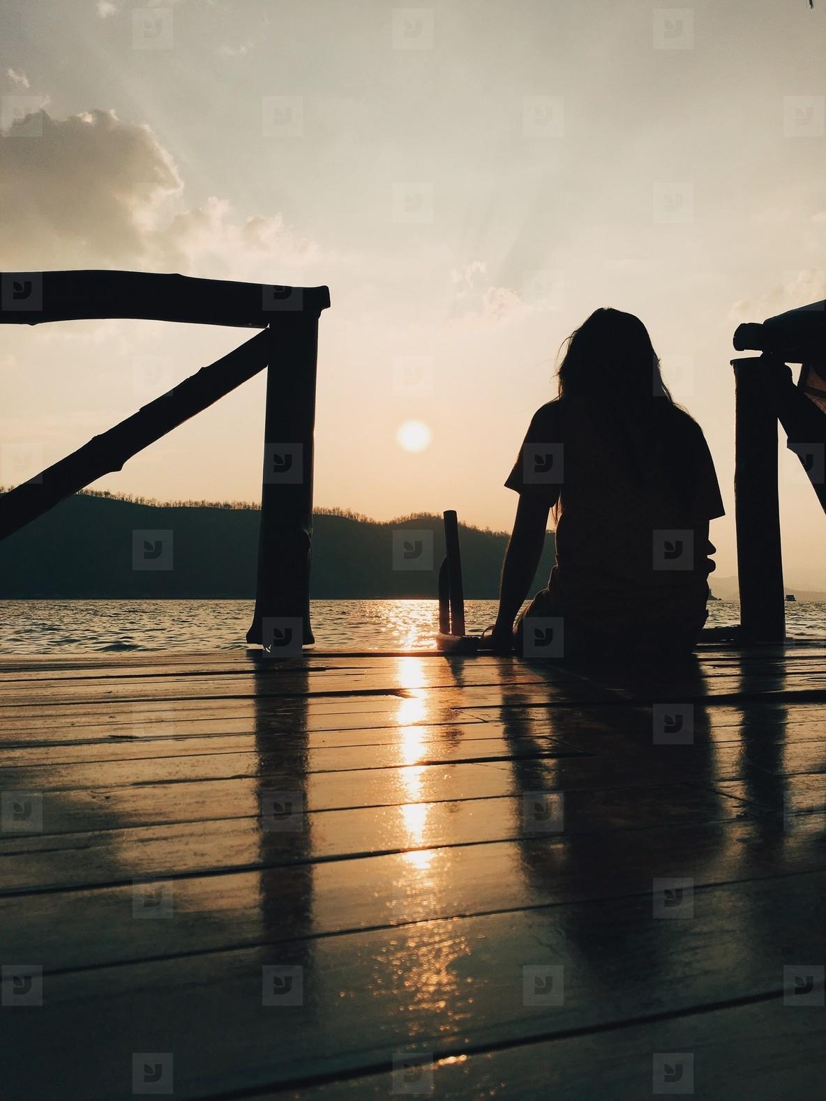 Silhouette photo  28