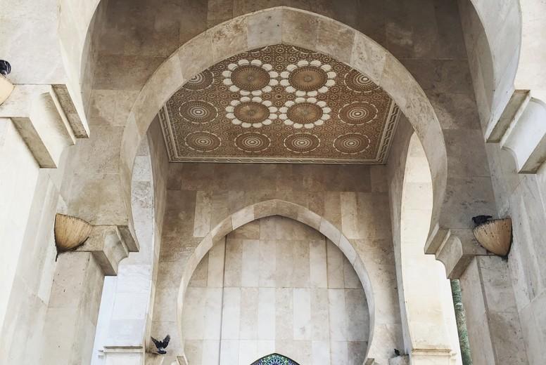 Mosque of Hassan II  Morocco