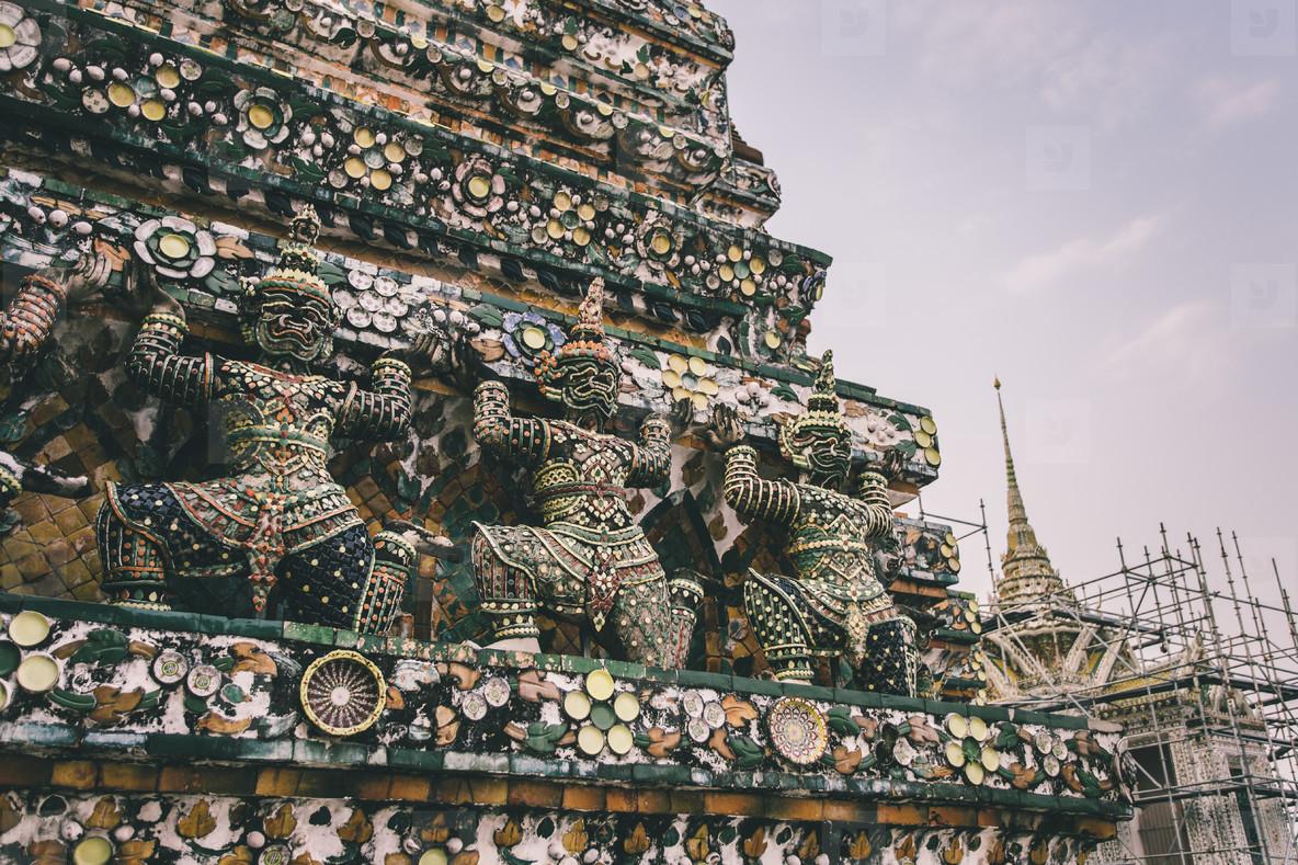 A part of Chedis  Wat Pho