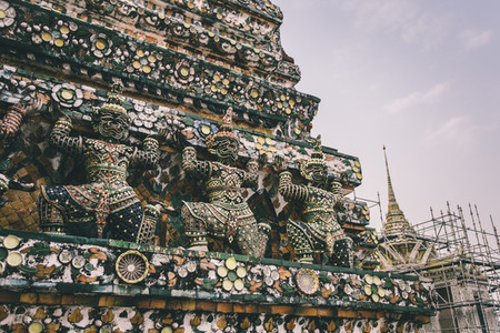 A part of Chedis  Wat Pho