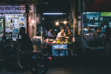 Night market  Bangkok