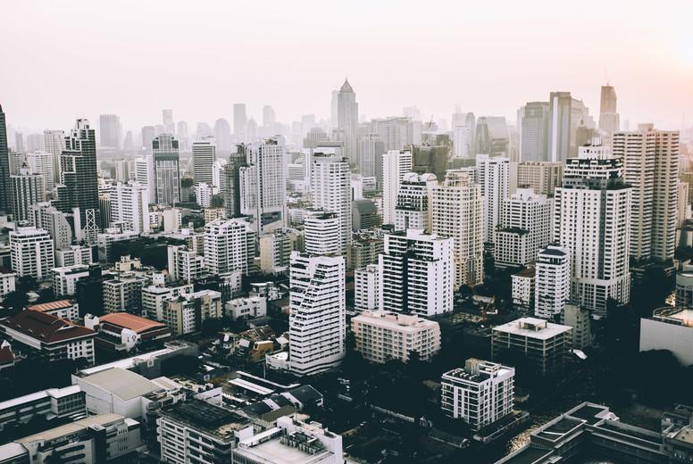 Bangkok skyline  03