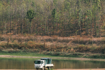 View of Reservoir  Thailand  01