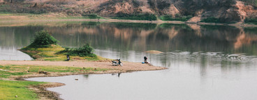 View of Reservoir  Thailand  02