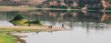 View of Reservoir  Thailand  02