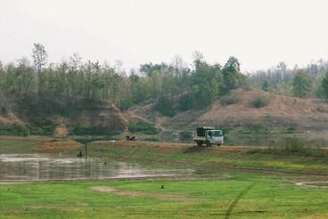 View of Reservoir  Thailand  03