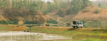 View of Reservoir  Thailand  04