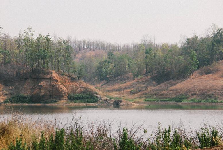 View of Reservoir  Thailand  05