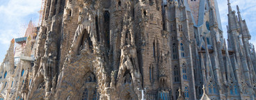 Sagrada Familia in Barcelona  Sp