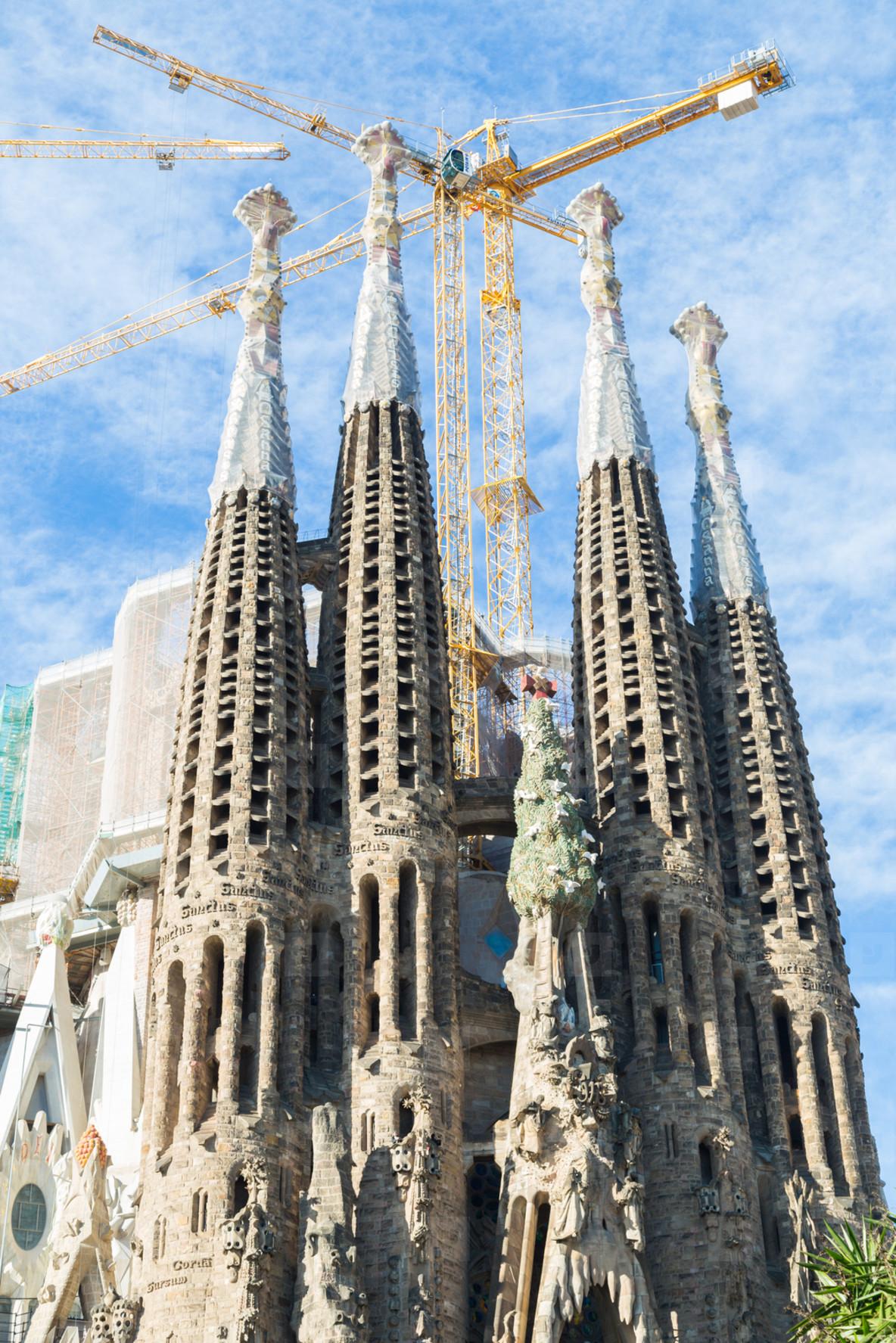 Sagrada Familia in Barcelona  Sp