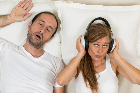 Woman can not sleep