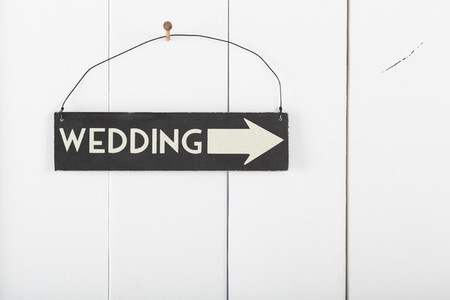 Sign wedding