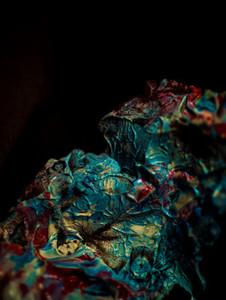 Acrylic Texture quot Lizard Skinquot