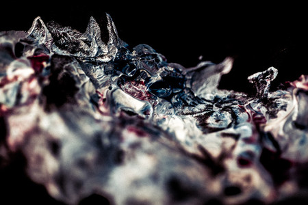 Acrylic Texture quot Rhinocerosquot