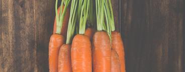 Delicious fresh carrots