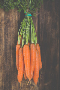 Delicious fresh carrots