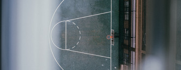 Rainy Basketball Court