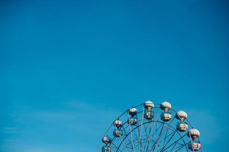 View of Ferris wheel