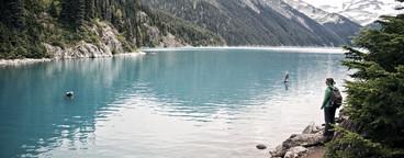 Turquoise lake  Whistler