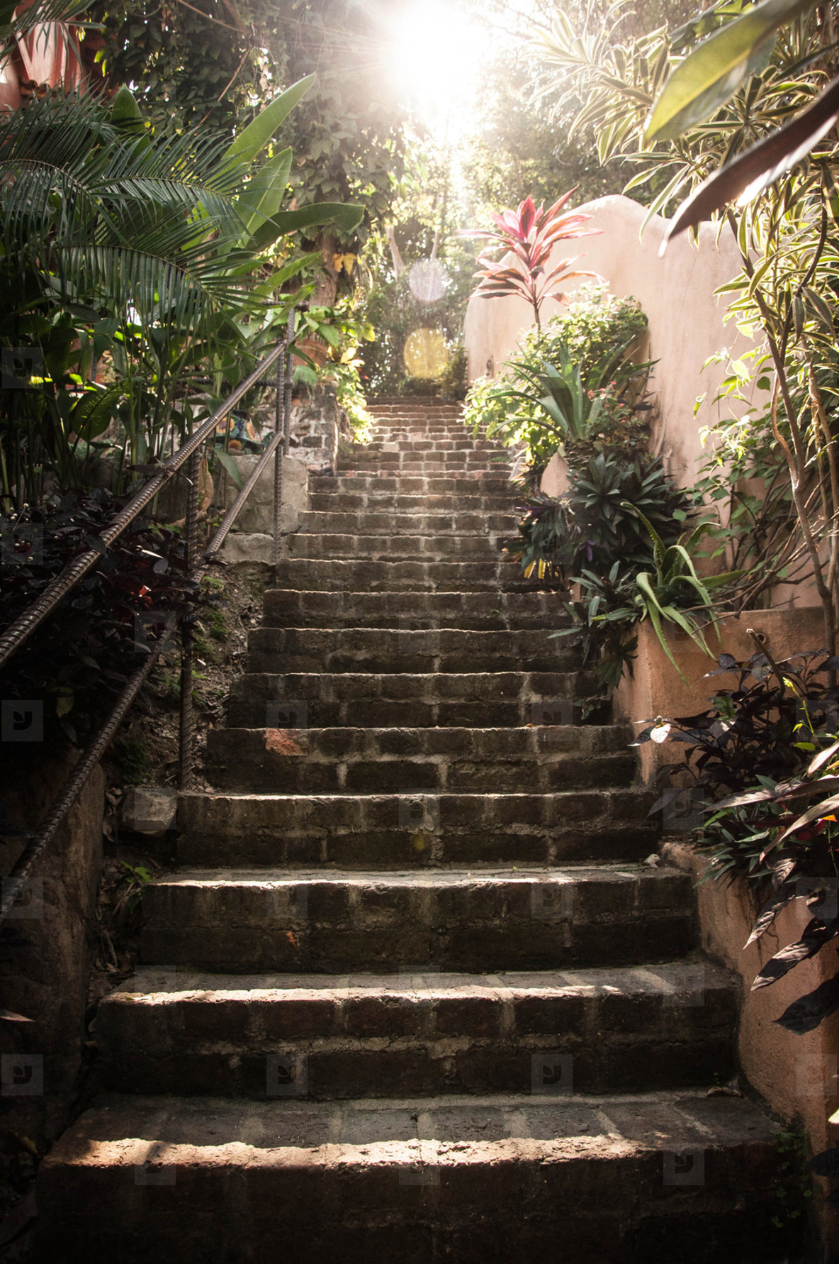 Stairs in Mexico