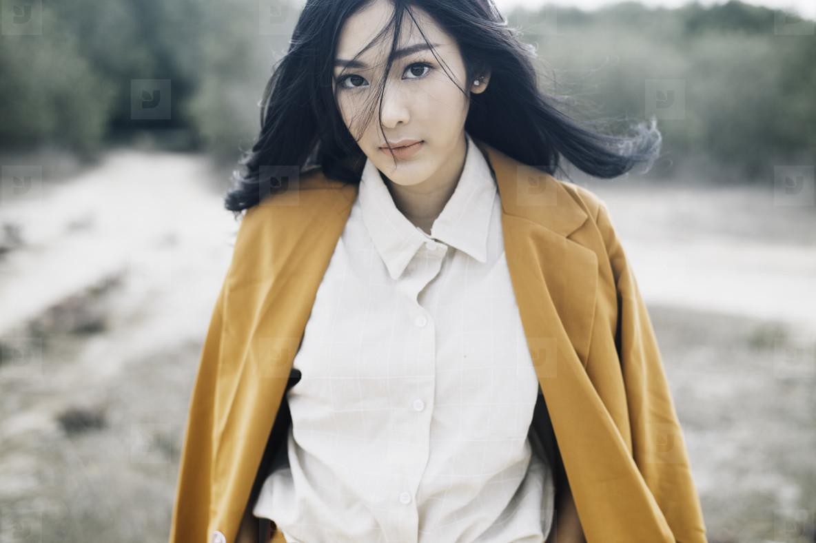 Portrait of asian woman  01