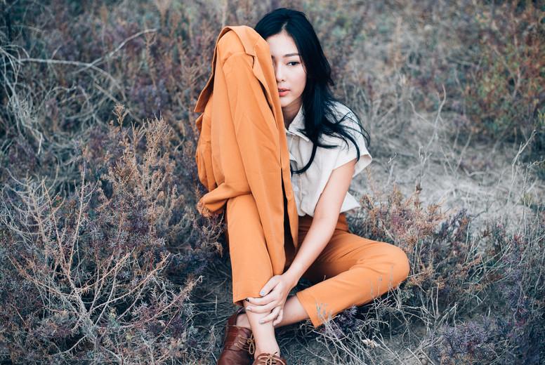 Portrait of asian woman  03