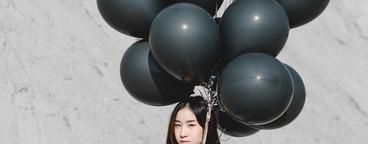 Portrait of cute girl  01